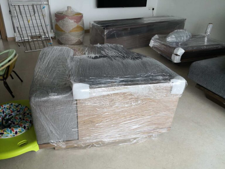 123ExpressMover - Wrapped Furniture